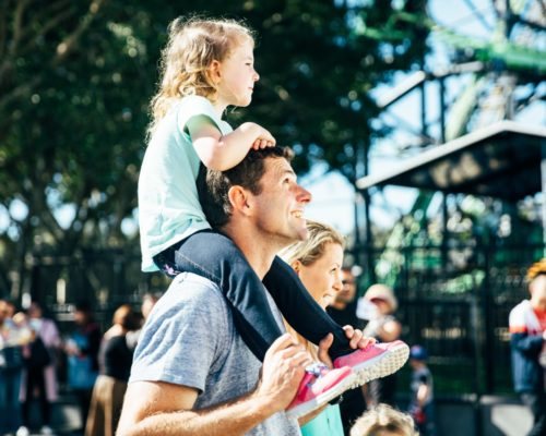 daughter-on-shoulders-of-father-and-with-mother-at-movie-world